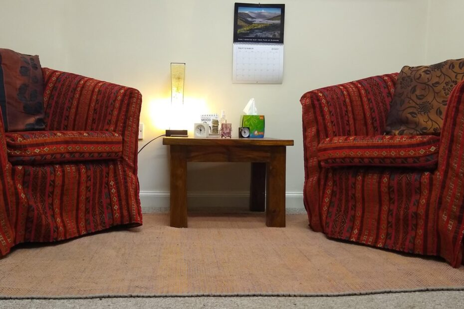 """Counselling """"Front Room"""" with armchairs"""